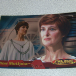 Star Wars Evolution topps 2001 Mon Motma Foil card